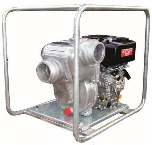 Yanmar diesel 4 inch water pump YDP40N 6 7 hp 1300 lpm 26 5