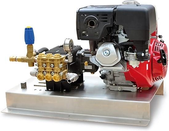 Honda GX390 11 hp water blaster and skid base (low sd) 200 bar ...