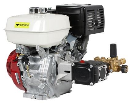 Annovi Reverberi water blaster pump Honda GX390 engine (electric start) 275 bar (4000 psi) 15 lpm
