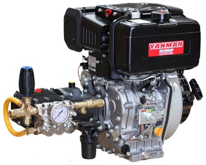 Yanmar diesel water blaster pump and engine pack 200 bar 2900 psi yanmar diesel water blaster pump and engine pack 200 bar 2900 psi 15 lpm ccuart Image collections