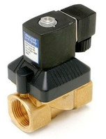 120.B35 Process Systems solenoid valve brass normally closed.jpg