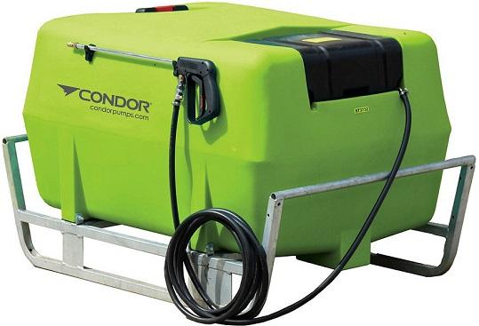 Condor Strike 400 litre skid sprayer Shurflo 12v pump 6 8