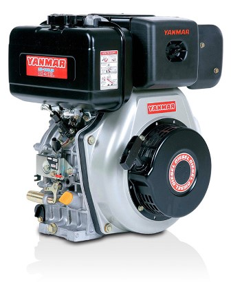 Yanmar diesel l100 10 hp engine electric start 1 inch for 100 hp electric motor price