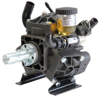 Annovi reverberi ar503 diaphragm pump male spline tractor for Hydraulic motor with pto spline