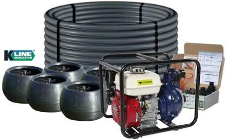 condor    pod farm pack irrigation system  honda gx fkt pump  full hose kit