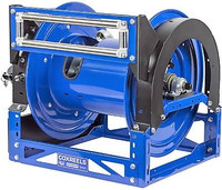 Hydraulic driven hose reels