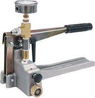 Hydrostatic testing pumps