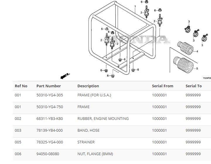 honda wb30xt 3 inch water pump gx160 4 8 hp 1096 lpm 26 m head rh condorpumps com honda gx160 spare parts list Honda GX160 Parts Manual